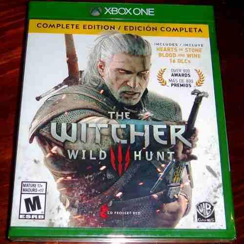 Videojuego The Witcher 3 Wild Hunt Xbox One Fisico Sellado