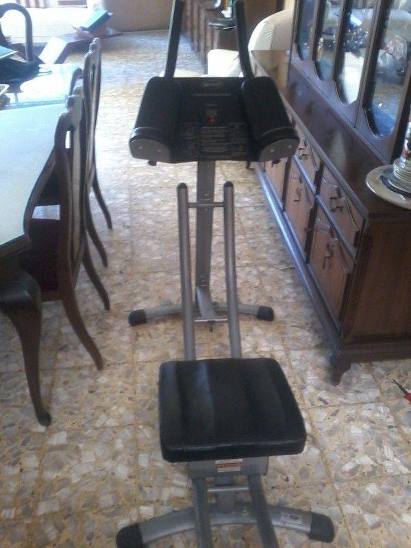 vendo máquinas de ejercicios ab coaster