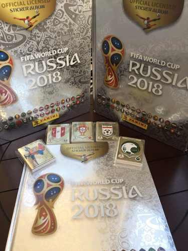 Album Mundial Rusia 2018 Plateado Con 682 Estampas Panini