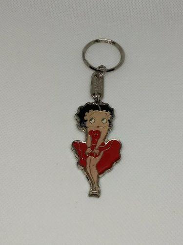 Betty Boop Llavero Metálico Con Envío Gratis