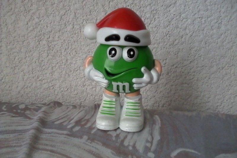 Contenedor M&m's Minis Rojo y Verde