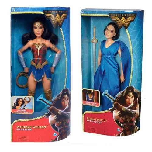 Dc Comics Wonder Woman 2 Barbie Mujer Maravilla C/maltratada