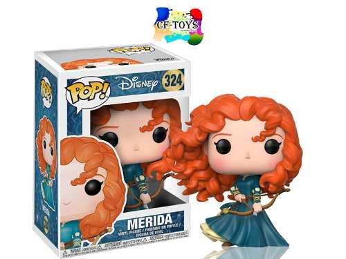 Disney Princesas Merida Arco Funko Pop Pelicula Valiente Cf