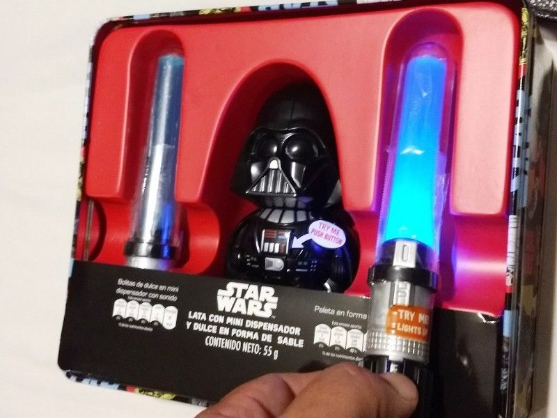 Dispensador de dulces Darth Vader Star Wars