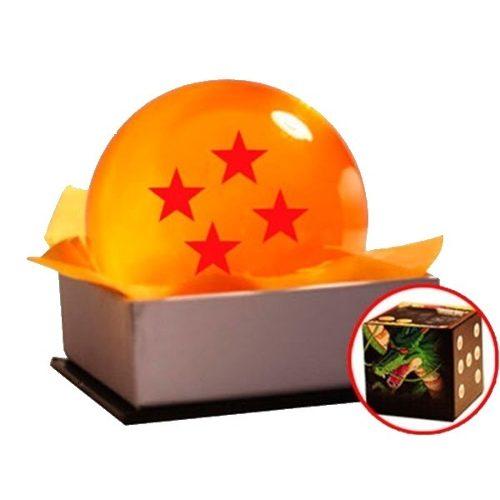 Esfera De Dragón 4 Estrellas 7 Cm Con Estuche Cm Bandai