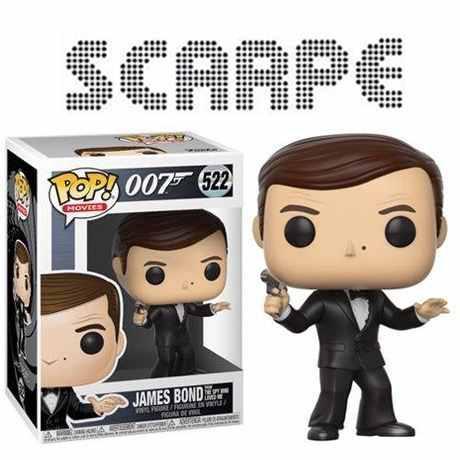 Funko Pop James Bond 007 Actor Roger Moore