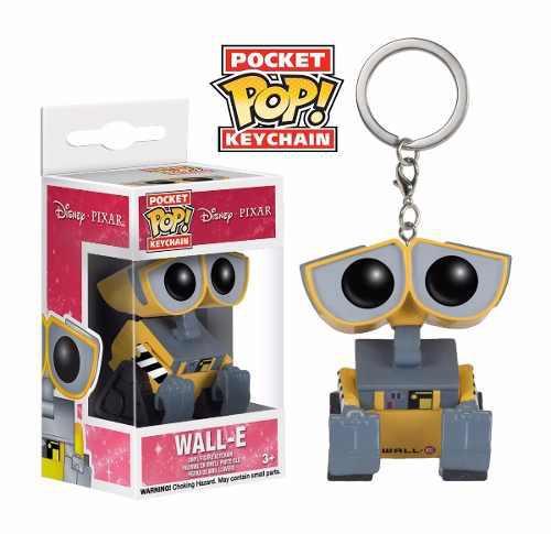 Funko Pop Llavero Wall-e Disney Pixar Pocket Keychain Nuevo!
