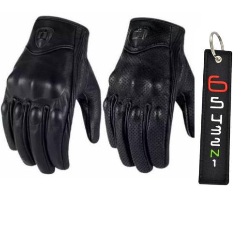 Guantes Icon Pursuit Llavero Biker De Regalo