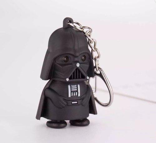 Increible Llavero Darth Vader Con Luz Led