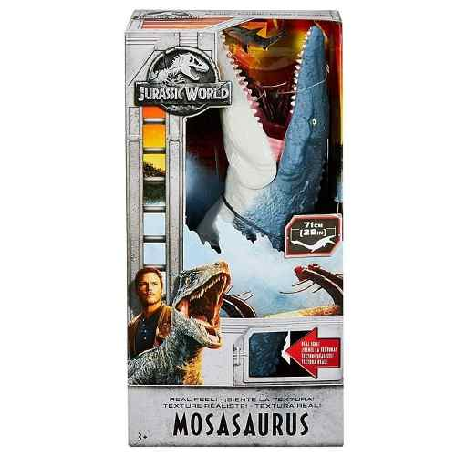 Jurassic World Mosasaurio Mattel Mosasaurus 71cms Envío