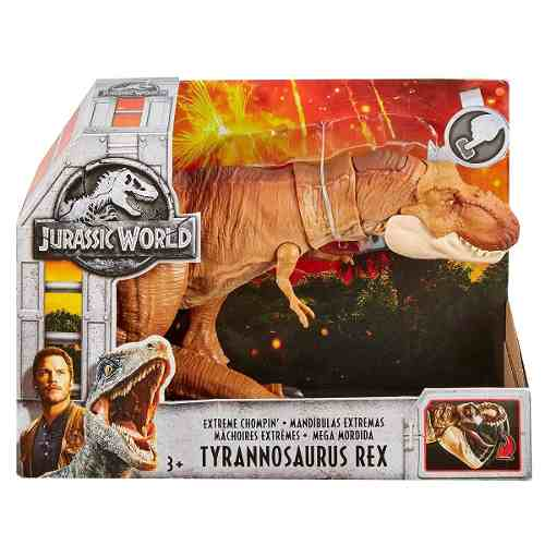 Jurassic World Tyrannosaurus Rex Mandibulas Extremas Nuevo