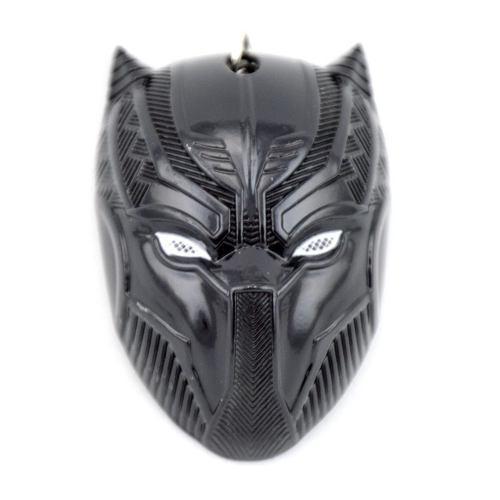 Llavero Conmemorativo Marvel Avengers Black Panther Negro