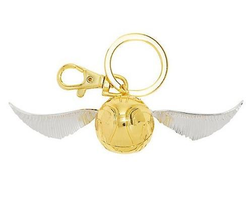 Llavero Golden Snitch Harry Potter Keychain Quidditch Dorada