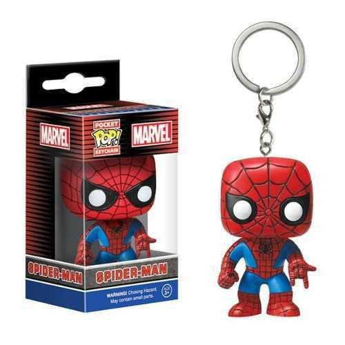 Llavero Keychain Funko Pop Spiderman Hombre Araña Navidad