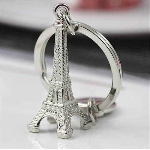 Llavero Torre Eiffel París Metálica - Envío Gratis