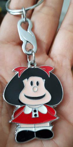 Mafalda Quino Precioso Llavero Metalico 0903