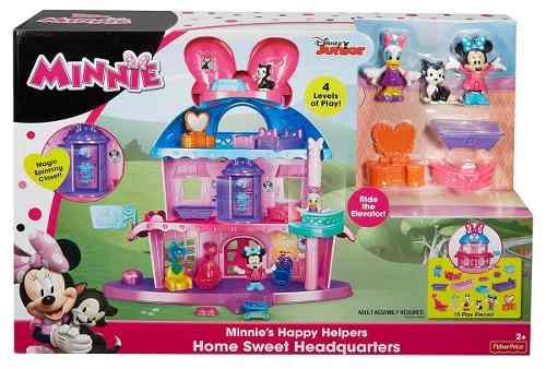 Minnie Mouse Super Casa Hogar Dulce Hogar Disney