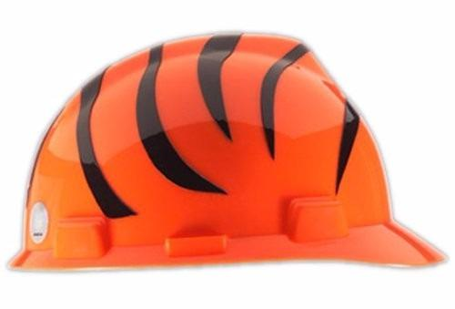 Nfl Msa Safety Works Casco Duro Cincinnati Bengals