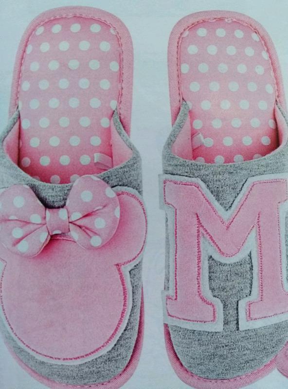 Pantunfla Minnie Mouse