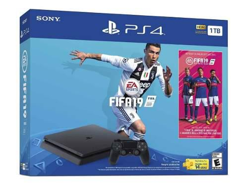 Playstation 4 Slim Ps4 1tb Fifa 19 Nuevo Msi