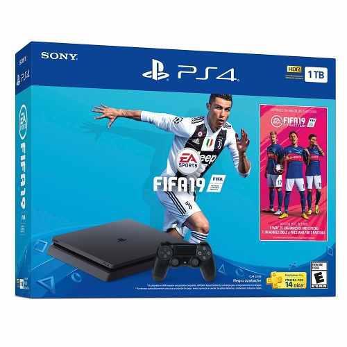 Playstation 4 Slim Ps4 1tb Fifa 2019 Nuevo + Envio Gratis