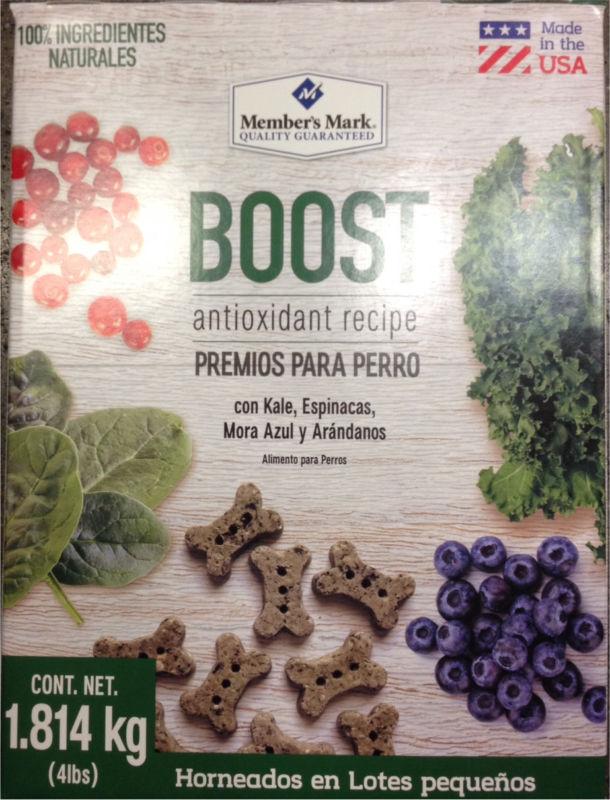 Premios para perro 1.8kg - BOOST receta con antioxidante