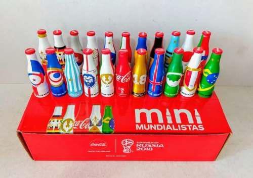 Promoción 3 Colecciones Mini Mundialistas Coca Cola 2018