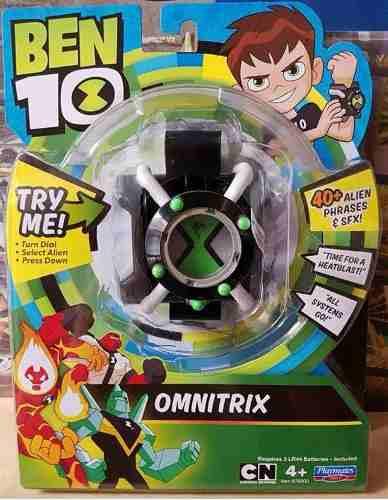 Reloj Ben10 Omnitrix 40 Frases Y Sonidos