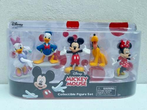 Set De Figuras De Mickey Mouse Y Mini Original Disney Store