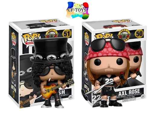 Slash Axl Set 2 Piezas Funko Pop Musica Guns N Roses Cf