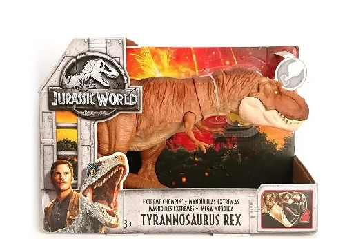 T- Rex Dinosaurio Jurassic World Mega Mordida 50cm
