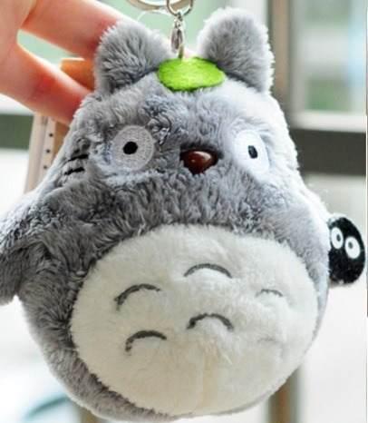 Totoro Mi Vecino Totoro Llavero De Peluche Colguije Bolsa