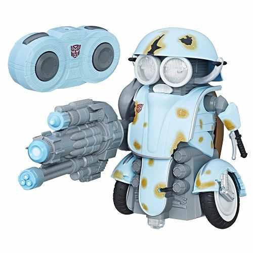 Transformers Autobot Sqweeks Con Control Remoto