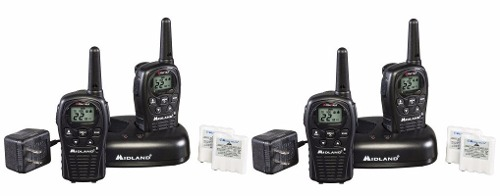 2 Kit Radios Midland Lxt500vpkm* 24 Millas 22 Canales
