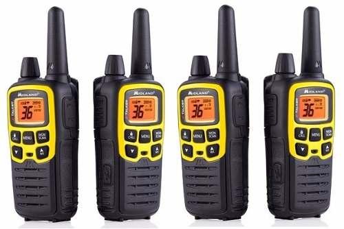 2 Kit Radios Midland X Talker T61vpkm* 32mi 2 Vías