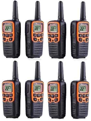 4 Kit Radios Midland X Talker T51vpkm* 28mi 2 Vías