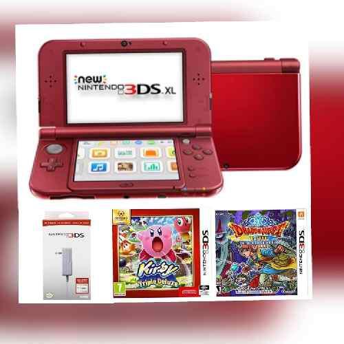 Combo New Nintendo 3ds Xl,cargador +2 Juegos.