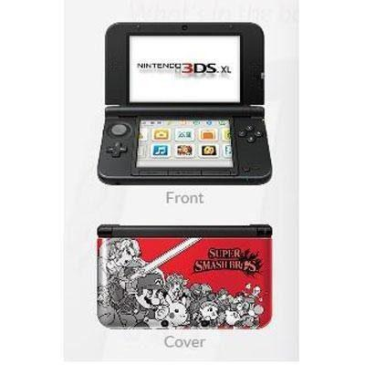 Consola Nintendo 3ds Xl Super Smash Bros Edición Limit W43