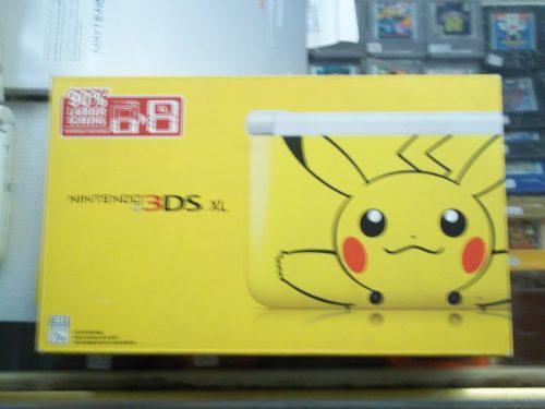 Consola Nintendo 3ds Xl Version Pikachu Edition