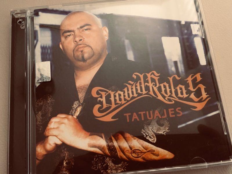 David rolas tatuajes cd original