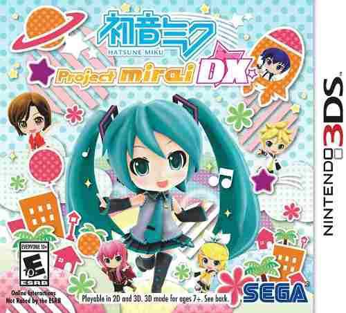 Juego Nintendo 3ds Hatsune Miku: Proyecto Mirai Dx