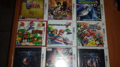 Juegos De 3ds Y De Ds Mario Kart Metal Slug Metriod Resident