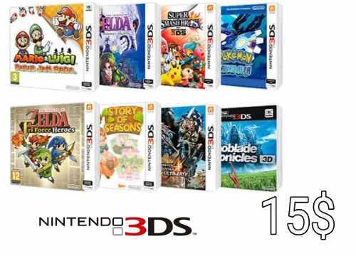 Juegos De Nintendo 3ds Digitales