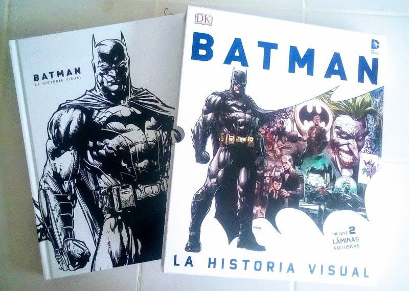 Libro, Batman la Historia Visual