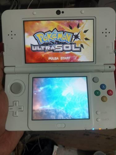 New Nintendo 3 Ds Edicion Mario Blanco