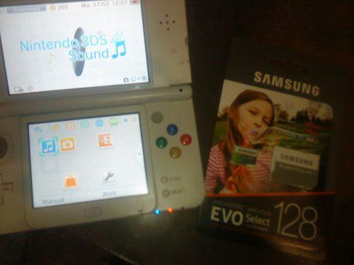 New Nintendo 3ds 150 Juegos 3d 128 Gb.