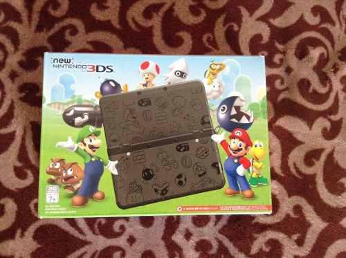 New Nintendo 3ds Super Mario Black Edition Colección Nuevo