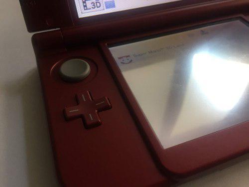 New Nintendo 3ds Xl Red + Juegos Mario Y Zelda