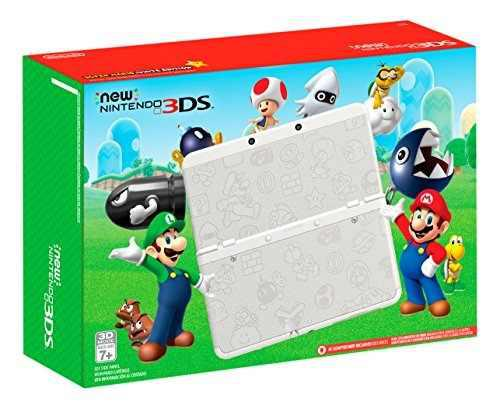 Nintendo 3ds De Nintendo Super Mario White Edition - Ninten