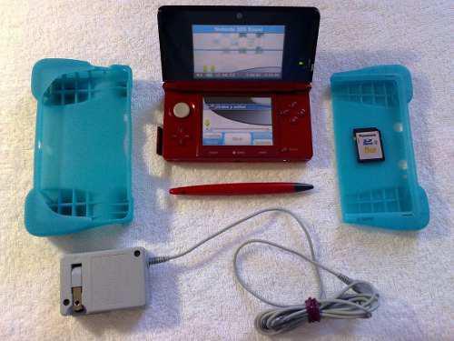 Nintendo 3ds Rojo Impecable (Envío Gratis)